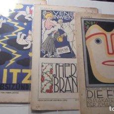 Libros antiguos: VANGUADIAS - VIENA - DIE FLACHE.PUBLICACION DE REFERENCIA DE LAS ARTES GRAFICAS DE PRINCIPIO DEL S. . Lote 190330468