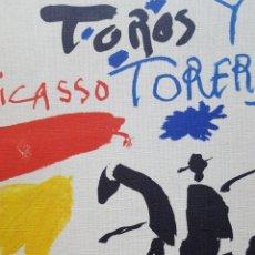 Libros antiguos: PABLO PICASSO: TOROS Y TOREROS. TEXTE LUIS MIGUEL DOMINGUÍN. 1ª EDICIÓN FRANCESA, CERCLE D'ART 1961. Lote 190740037