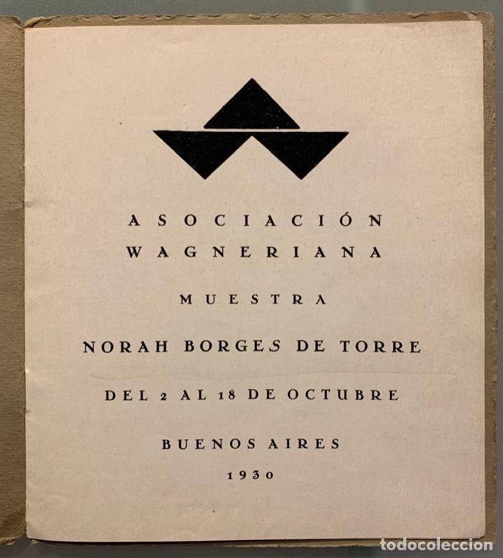 Libros antiguos: Norah Borges de Torre - Foto 3 - 192781895