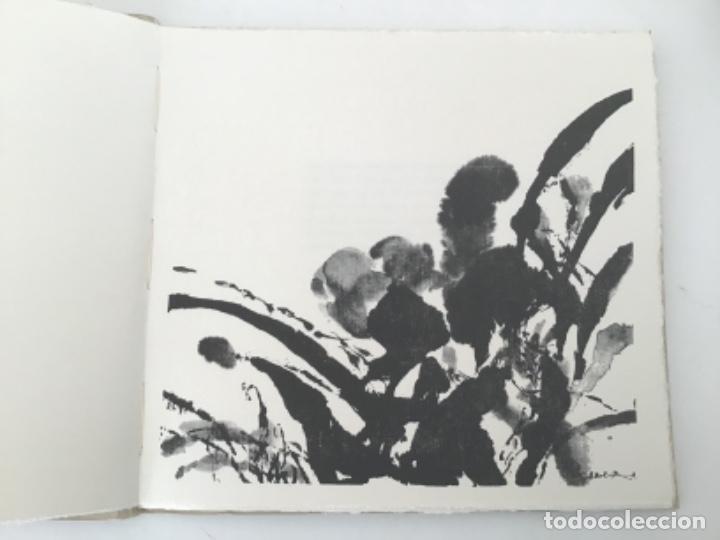 Libros antiguos: Divertissements avec des Ombres con frontispicio de Zao Wou Ki - Foto 3 - 193304091