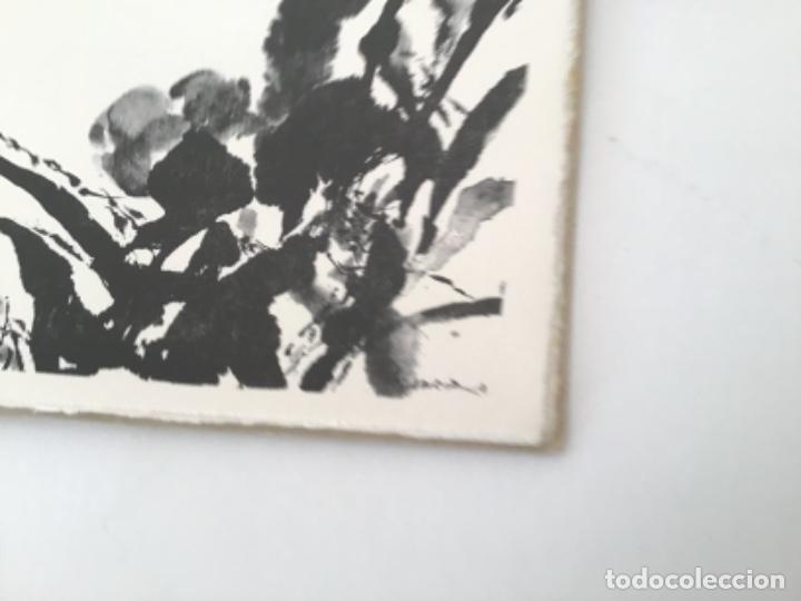 Libros antiguos: Divertissements avec des Ombres con frontispicio de Zao Wou Ki - Foto 4 - 193304091