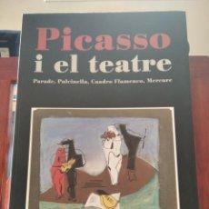 Libros antiguos: PICASSO I EL TEATRE-PARADE-PULCINELLA---MUSEU PICASSO-1996-COMO NUEVO. Lote 194153335