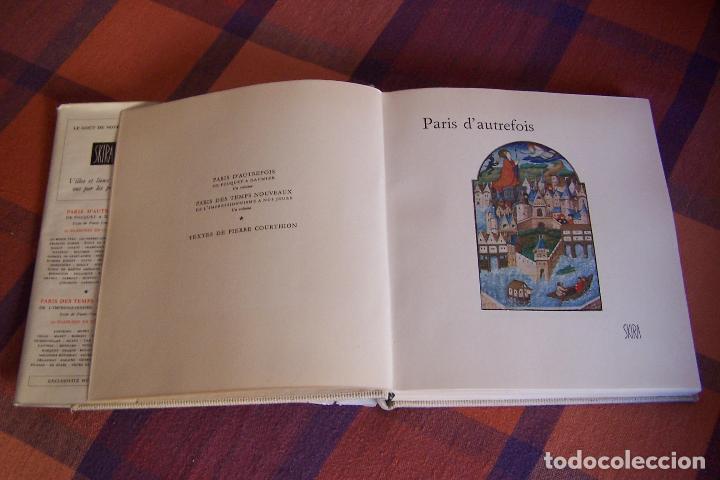 Libros antiguos: PARIS D AUTREFOIS DE FOUQUET A DAUMIER, 1957. TEXTOS EN FRANCÉS. - Foto 2 - 194622782