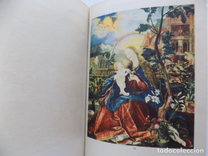 Libros antiguos: LIBRERIA GHOTICA. LAS MADONAS DE LA PINTURA ALEMANA. (1350-1525) 1940. MUY ILUSTRADO.. - Foto 2 - 194739197