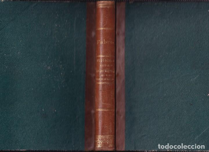 Libros antiguos: FRANCISCO JOSÉ FABRE: LAS ALEGORÍAS PINTADAS EN LAS BÓVEDAS DEL REAL PALACIO. 1829 - Foto 2 - 194877847