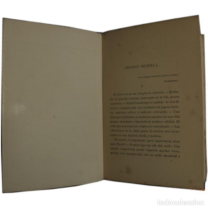 Libros antiguos: LIBRO ANTIGUO. ARTE&ARTISTAS, JOSÉ JUNOY, 1912 - Foto 4 - 194881172