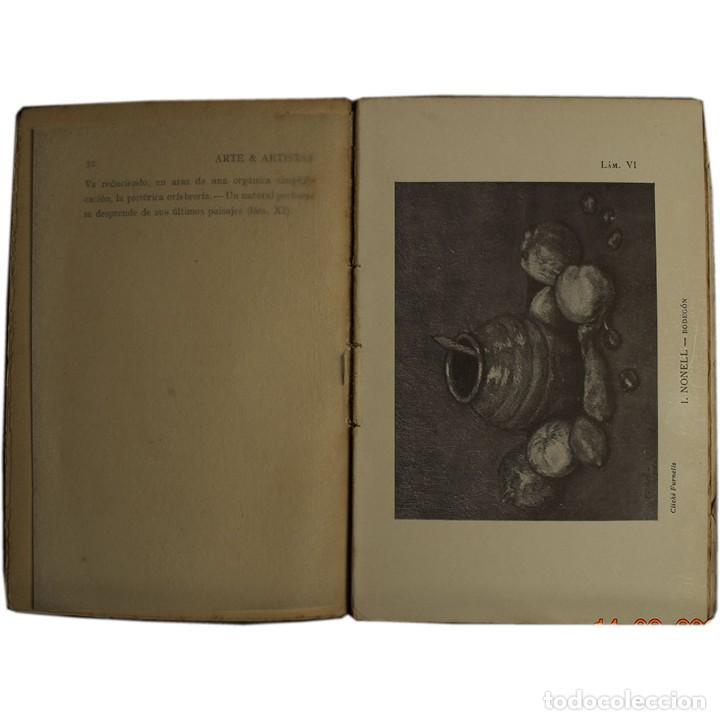 Libros antiguos: LIBRO ANTIGUO. ARTE&ARTISTAS, JOSÉ JUNOY, 1912 - Foto 5 - 194881172