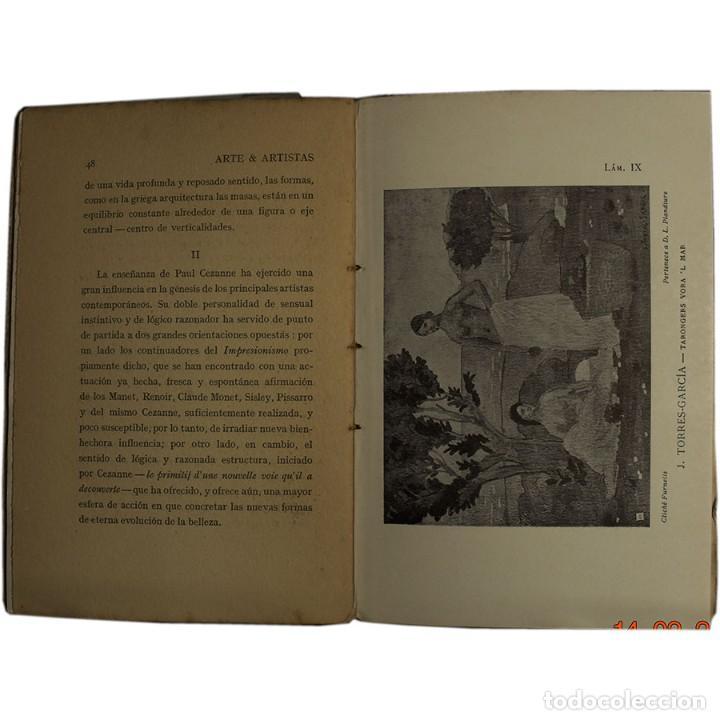 Libros antiguos: LIBRO ANTIGUO. ARTE&ARTISTAS, JOSÉ JUNOY, 1912 - Foto 6 - 194881172