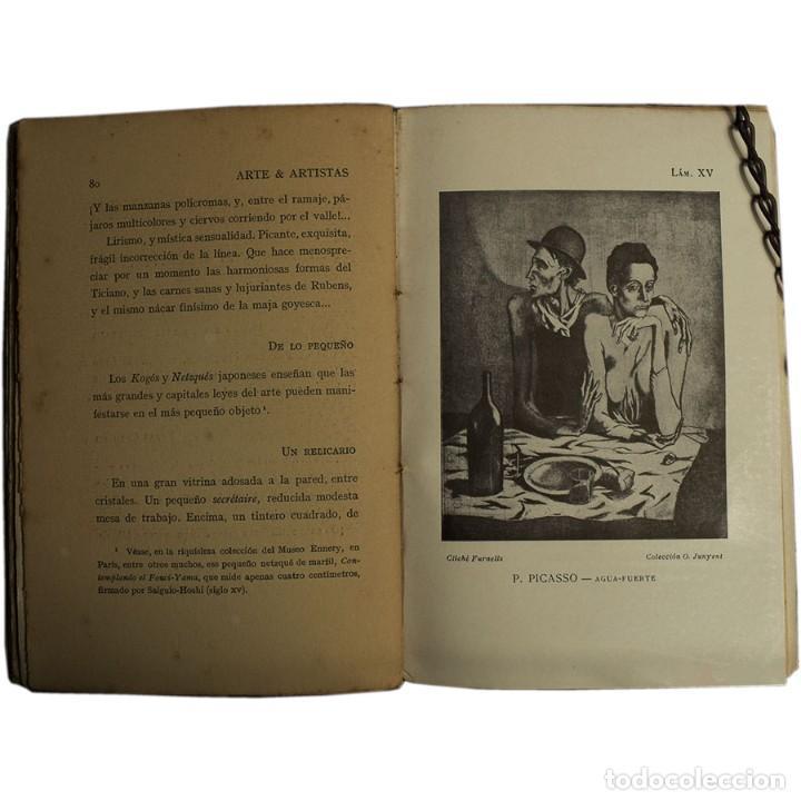 Libros antiguos: LIBRO ANTIGUO. ARTE&ARTISTAS, JOSÉ JUNOY, 1912 - Foto 8 - 194881172