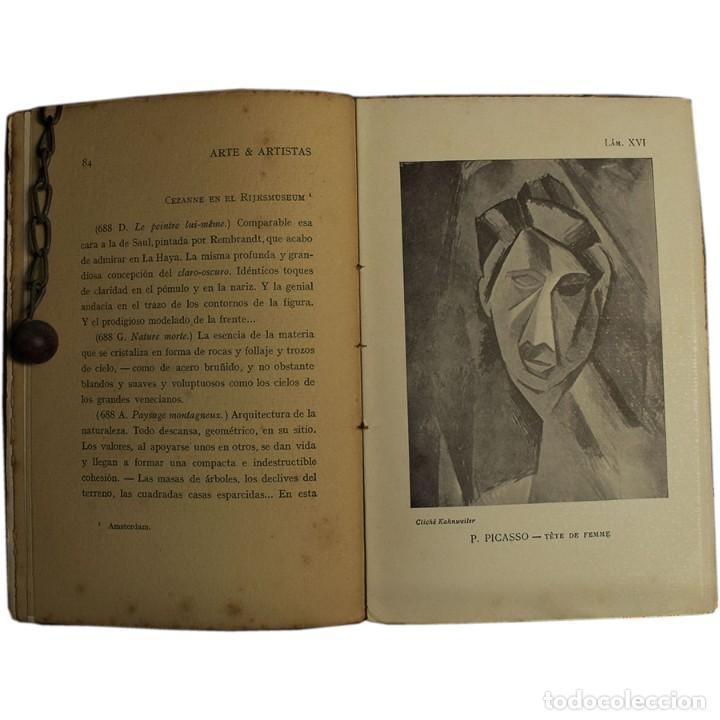 Libros antiguos: LIBRO ANTIGUO. ARTE&ARTISTAS, JOSÉ JUNOY, 1912 - Foto 9 - 194881172