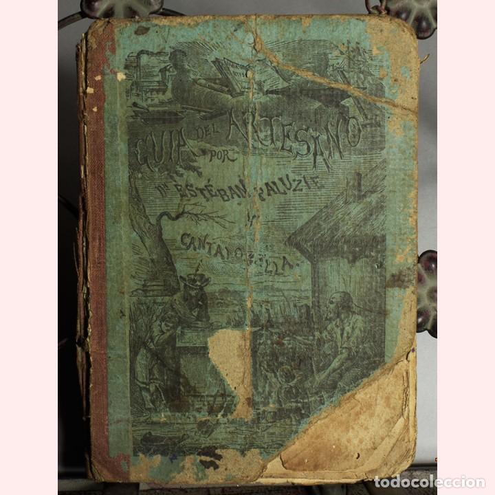 LIBRO ANTIGUO. GUIA DEL ARTESANO. ESTÉBAN PALUZIE. 1874 (Libros Antiguos, Raros y Curiosos - Bellas artes, ocio y coleccion - Pintura)