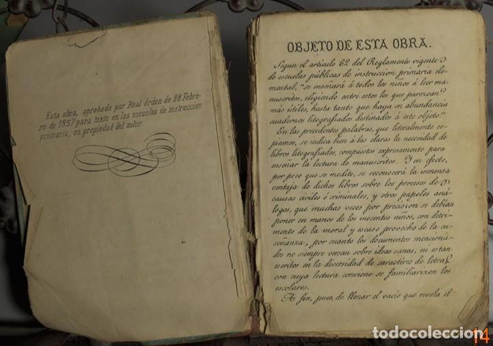 Libros antiguos: LIBRO ANTIGUO. GUIA DEL ARTESANO. ESTÉBAN PALUZIE. 1874 - Foto 3 - 194881647