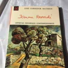 Libros antiguos: ARTISTAS ESPAÑOLES CONTEMPORANEOS SERIE PINTORES 124 JAUME MERCADER J CORREDOR MATHEOS. Lote 195194753