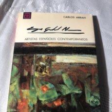 Libros antiguos: ARTISTAS ESPAÑOLES CONTEMPORANEOS SERIE PINTORES 137 E GABRIEL NAVARRO CARLOS AREAN. Lote 195194981