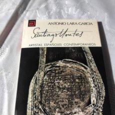 Libros antiguos: ARTISTAS ESPAÑOLES CONTEMPORANEOS SERIE PINTORES 128 MONTES ANTONIO LARA GARCIA. Lote 195194988