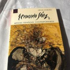 Libros antiguos: ARTISTAS ESPAÑOLES CONTEMPORANEOS SERIE PINTORES 148 FERNANDO SÁEZ MIGUEL LOGROÑO. Lote 195195082