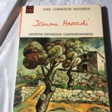 Libros antiguos: ARTISTAS ESPAÑOLES CONTEMPORANEOS SERIE PINTORES 124 JAUME MERCADER J.CORREDOR MATHEOS. Lote 195195347