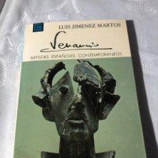 Libros antiguos: ARTISTAS ESPAÑOLES CONTEMPORANEOS SERIE ESCULTORES 154 VENANCIO LUIS JIMENEZ MARTOS. Lote 195195391