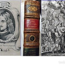 Libros antiguos: AÑO 1745: VIDA DE PINTORES ITALIANOS Y ESPAÑOLES. LIBRO DE 26 CM. DEL SIGLO XVIII EN PERFECTO ESTADO. Lote 195208135