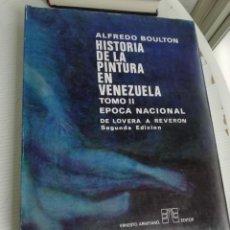 Libros antiguos: HISTORIA D ELA PINTURA EN VENEZUELA TOMO II . Lote 195670943