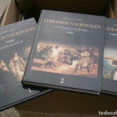 Libros antiguos: LOTE DE 3 LIBROS¡¡EPISODIOS NACIONALES¡¡¡. Lote 195742248