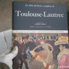 Libros antiguos: TOULOUSE LAUTREC. Lote 195743391