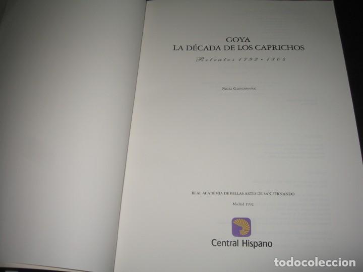 Libros antiguos: GOYA LA DECADA DE LOS CAPRICHOS - Foto 2 - 197382102