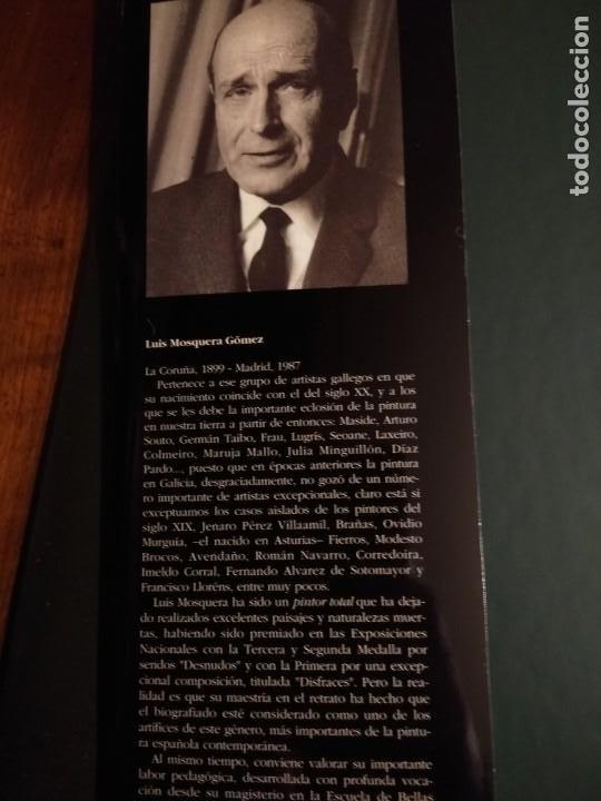 Libros antiguos: Biografía de Luis Mosquera (pintor coruñés) - Foto 4 - 199288403