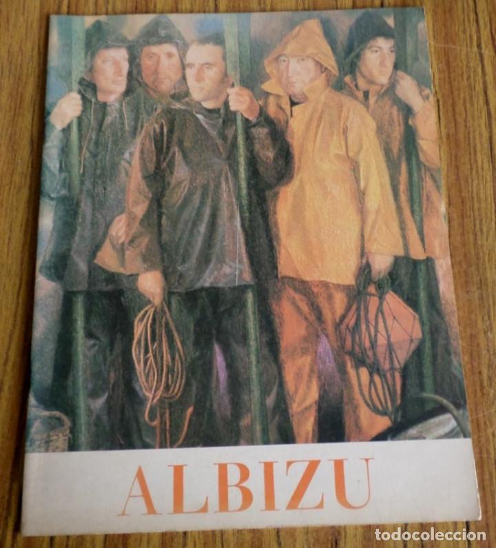 ALBIZU -- OLEOS Y DIBUJOS (Libros Antiguos, Raros y Curiosos - Bellas artes, ocio y coleccion - Pintura)
