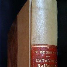 Libros antiguos: EDMOND DE GONCOURT: CATÁLOGO RAZONADO DE LA OBRA DE P.P. PRUD'HON, 1876. Lote 199324385