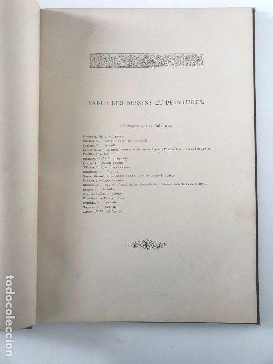 Libros antiguos: album de dessins dartitis espagnols en faveur des victimes des tremblements de terre en espagne - Foto 5 - 199468930