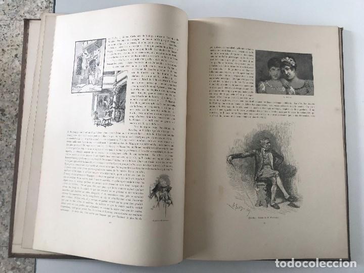 Libros antiguos: album de dessins dartitis espagnols en faveur des victimes des tremblements de terre en espagne - Foto 6 - 199468930