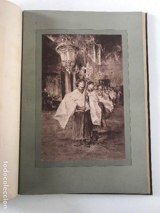 Libros antiguos: album de dessins dartitis espagnols en faveur des victimes des tremblements de terre en espagne - Foto 7 - 199468930