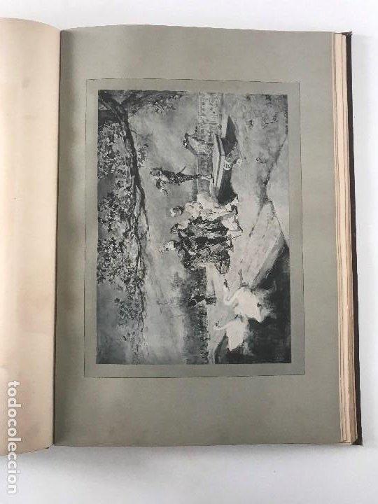 Libros antiguos: album de dessins dartitis espagnols en faveur des victimes des tremblements de terre en espagne - Foto 8 - 199468930