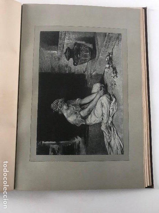 Libros antiguos: album de dessins dartitis espagnols en faveur des victimes des tremblements de terre en espagne - Foto 9 - 199468930