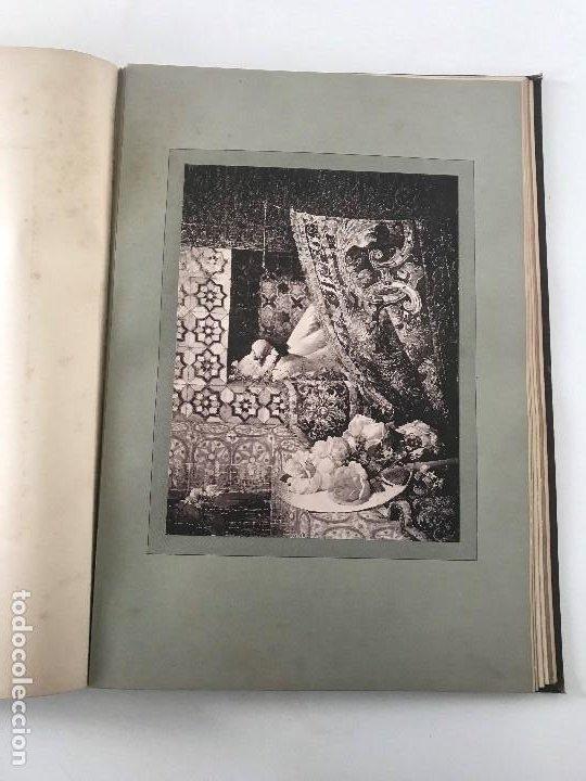 Libros antiguos: album de dessins dartitis espagnols en faveur des victimes des tremblements de terre en espagne - Foto 11 - 199468930
