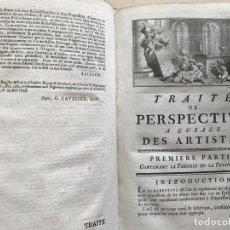 Libros antiguos: TRAITÉ DE PERSPECTIVE A L USAGE DES ARTISTES,...1750. E-S. JEAURAT . MÁS DE 110 GRABADOS. Lote 201296952