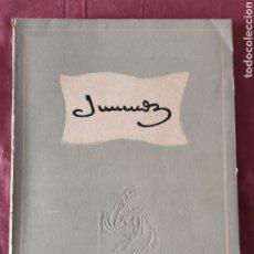 Libros antiguos: JUNCEDA. Lote 203249517