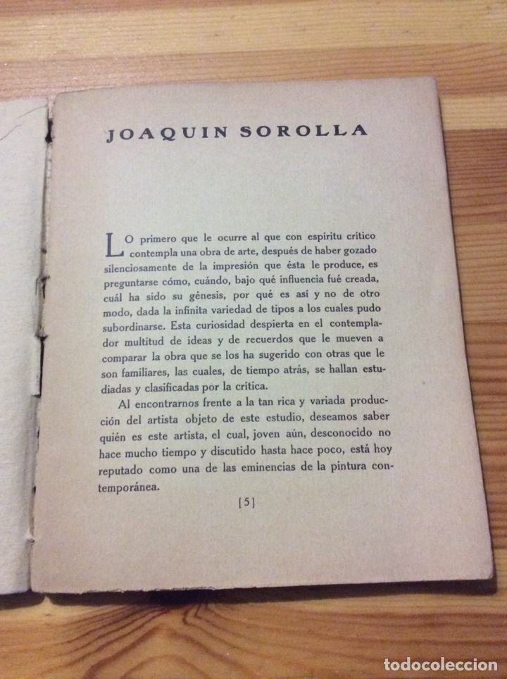 Libros antiguos: Joaquin Sorolla Tipografia Artistica con 27 reproduccones de obras cuadros falta 1 - Foto 3 - 203527858