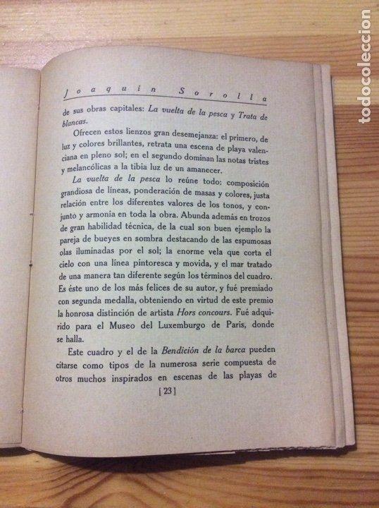 Libros antiguos: Joaquin Sorolla Tipografia Artistica con 27 reproduccones de obras cuadros falta 1 - Foto 4 - 203527858