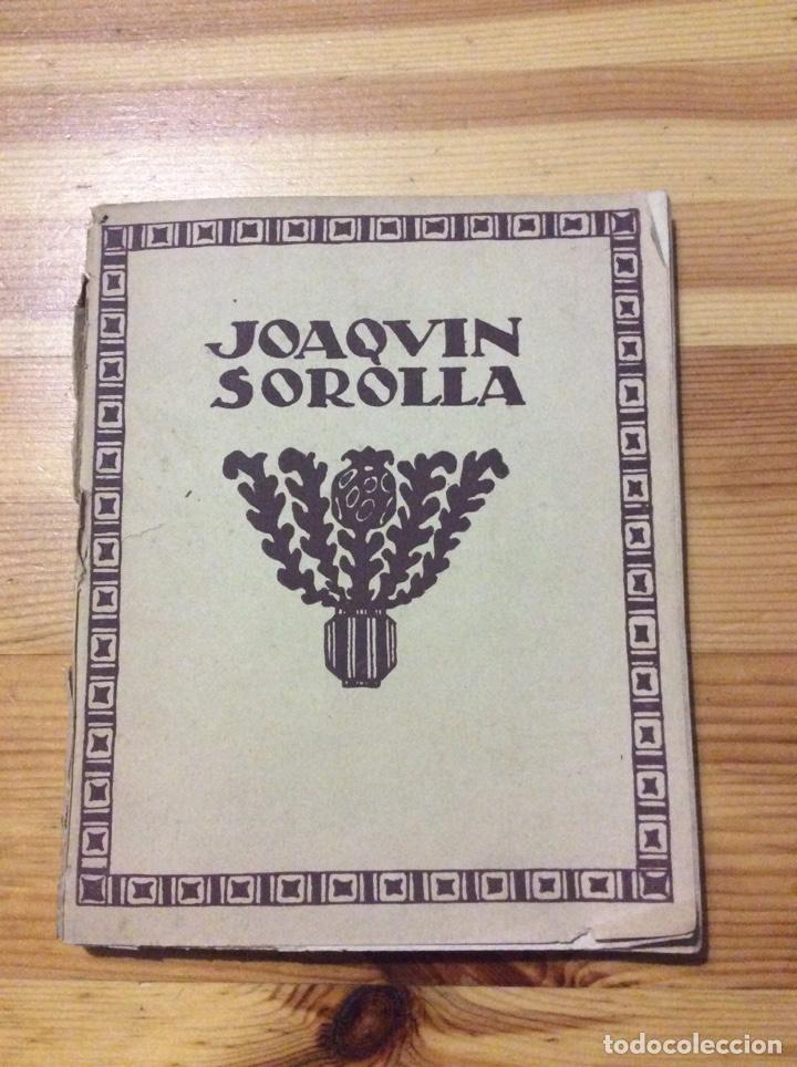 JOAQUIN SOROLLA TIPOGRAFIA ARTISTICA CON 27 REPRODUCCONES DE OBRAS CUADROS FALTA 1 (Libros Antiguos, Raros y Curiosos - Bellas artes, ocio y coleccion - Pintura)