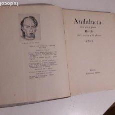 Livros antigos: ANDALUCIA VISTA POR EL PINTOR MAROTO. Lote 203946421