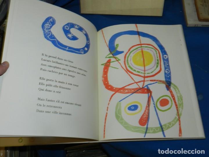 Libros antiguos: (M) PAUL ELUARD - A TOUTE ÉPREUVE - JOAN MIRÓ, GÉRALD CRAMER, GENÉVE , MUY ILUSTRADO - Foto 5 - 206229217