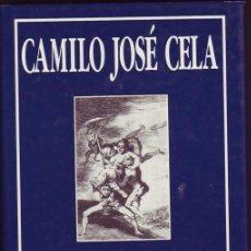 Libros antiguos: LOS CAPRICHOS DE FRANCISCO DE GOYA Y LUCIENTES. CAMILO JOSÉ CELA. MADRID, EDITORIAL SILEX, 198.. Lote 208054011