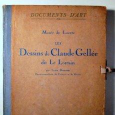 Libros antiguos: GELLÉE, CLAUDE, LE LORRAIN - DESSINS DE CLAUDE GELLÉE DIT LE LORRAIN - PARIS 1923 - MUY ILUSTRADO. Lote 208223005
