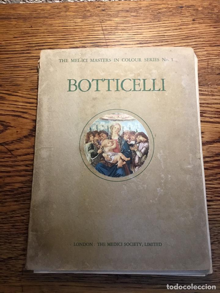 BOTTICELLI THÉODORE MEDICI MASTERS NI COLOUR SERIES Nº1 (Libros Antiguos, Raros y Curiosos - Bellas artes, ocio y coleccion - Pintura)