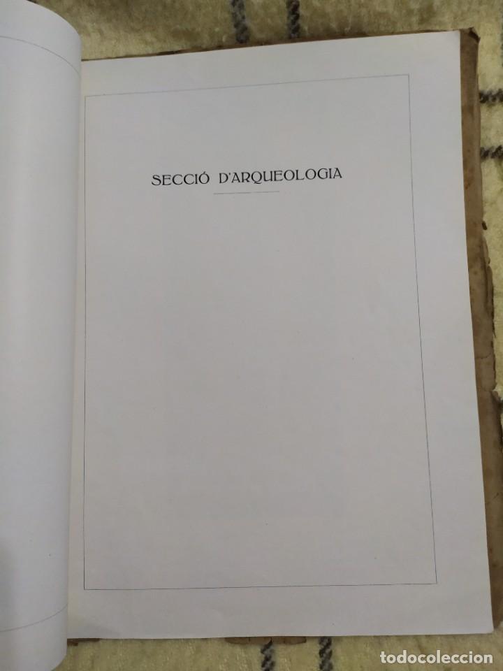 Libros antiguos: 1919. Adquisiciones del Museo de arte y arqueología de Barcelona en 1908. - Foto 2 - 209291740