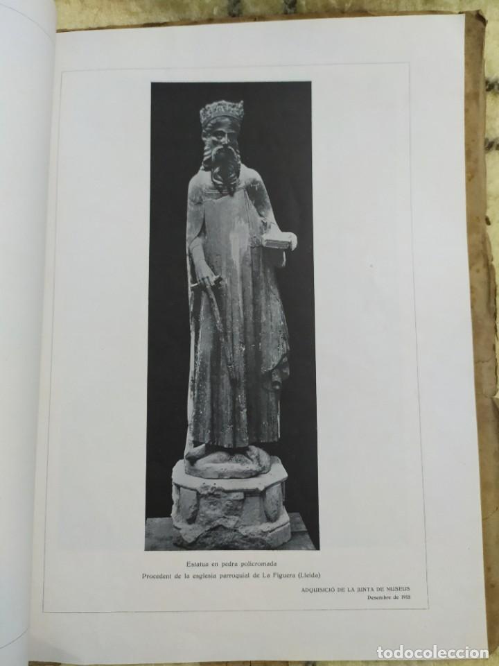 Libros antiguos: 1919. Adquisiciones del Museo de arte y arqueología de Barcelona en 1908. - Foto 6 - 209291740