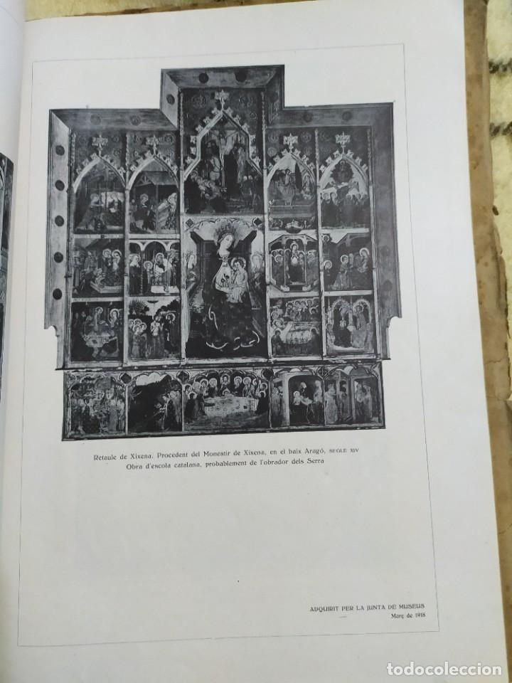 Libros antiguos: 1919. Adquisiciones del Museo de arte y arqueología de Barcelona en 1908. - Foto 8 - 209291740