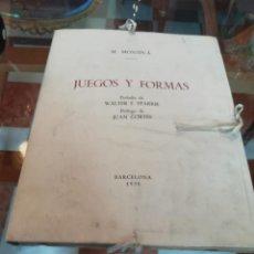 Libros antiguos: JUEGOS Y FORMAS DE WALGER STARKLE DE 1950. Lote 210795410